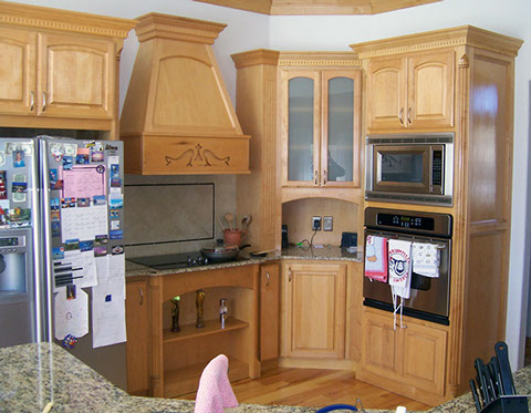 Gallery dj cabinets stillwater ok for Kitchen design 43055